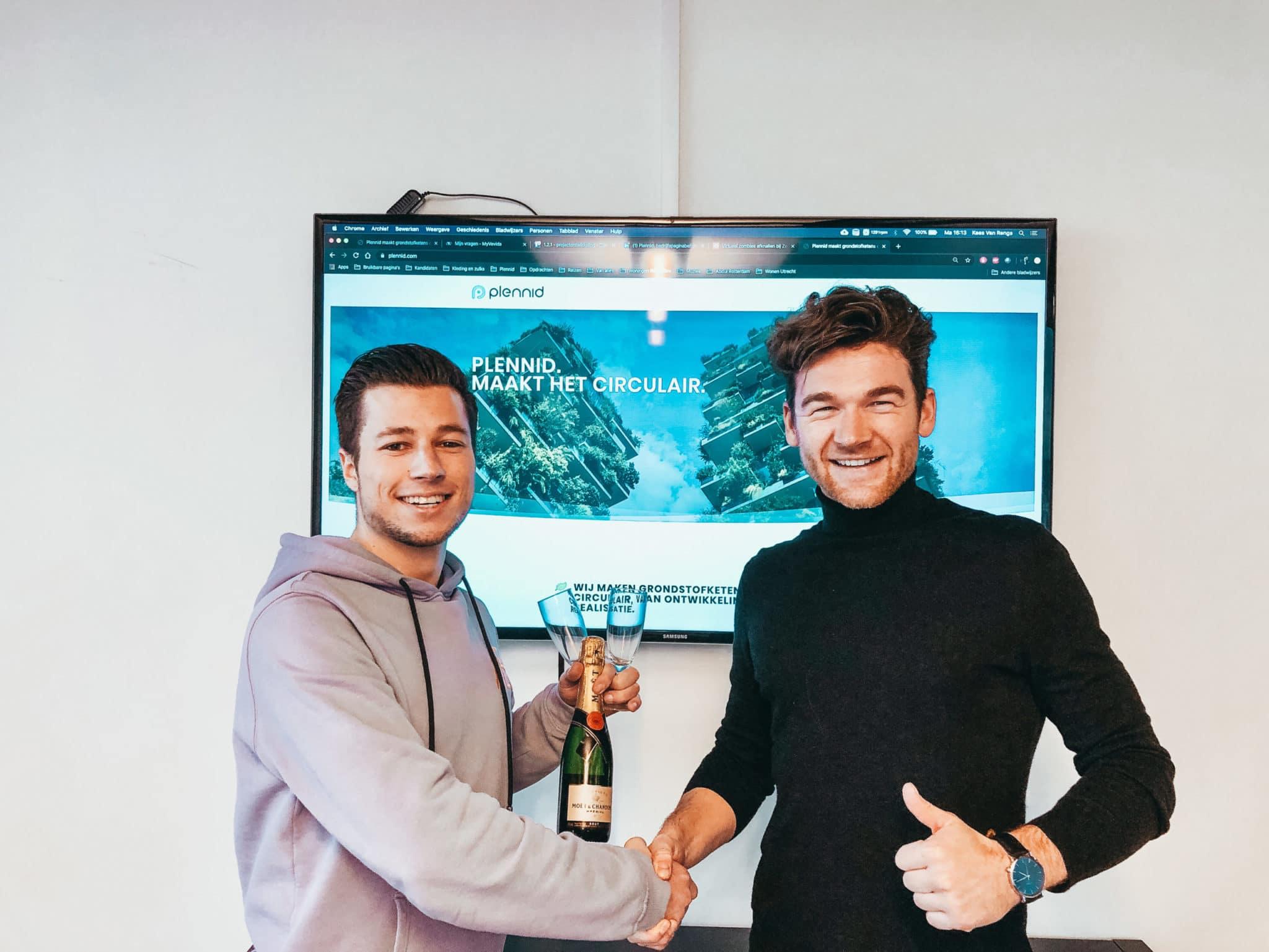 Plennid lanceert nieuwe website in samenwerking met BrightQontent!