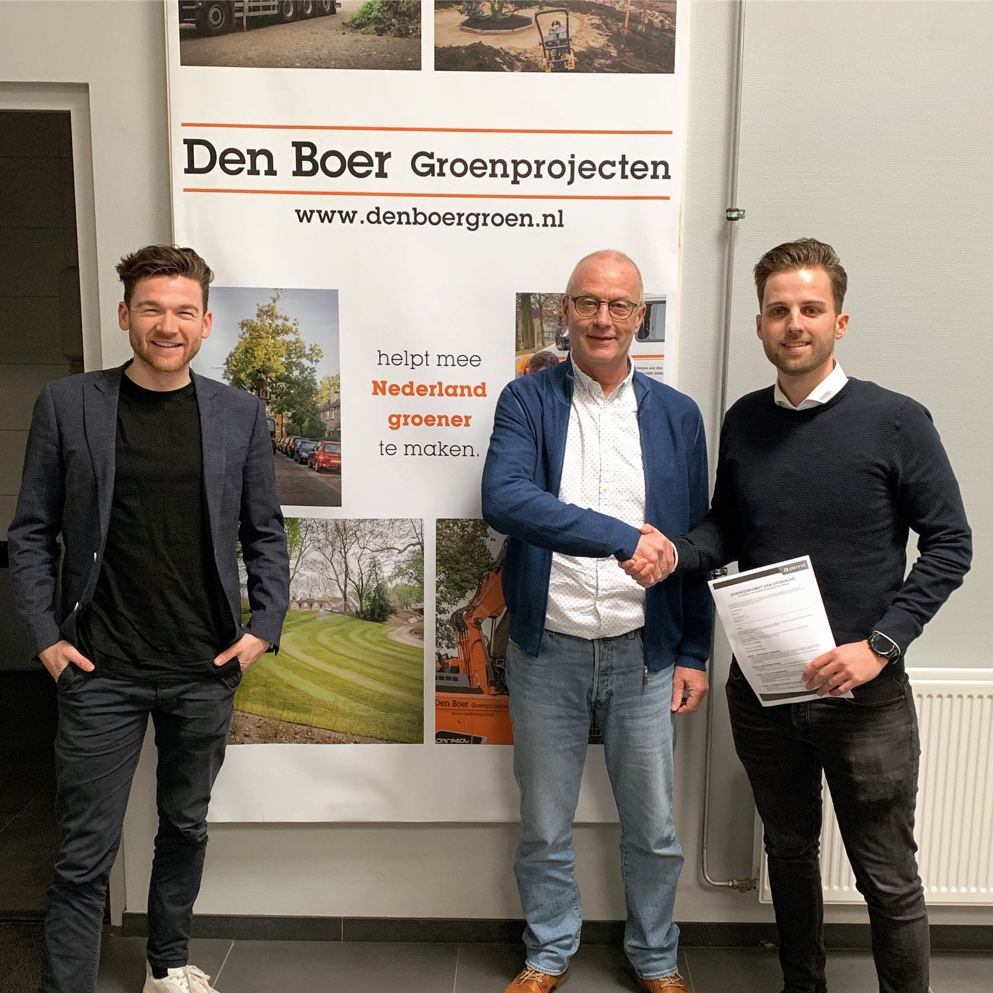 Plennid aan de slag met ketenregie bij Den Boer Groenprojecten