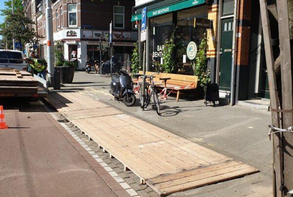 circulaire tuin, gemeente Rotterdam, vlonders, horeca ondernemers, plennid